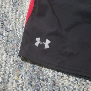 Under Armour Shorts - UNDER ARMOUR Lined Running Athletic Shorts Medium